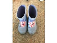 Kids Joules wellies size 5