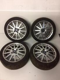 Fiesta Zetec S Mk6 16'inch Alloy Wheels