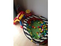 Baby walkers x 2 vtech and ball pit