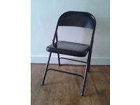 2 foldable chairs in excellent condition £10 or £5 each by end of February
