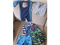 Boys Clothes Bundle - Age 2-3 (summer/swimming/pyjamas/t-shirt/trousers)