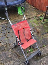Light buggy . Hardly used