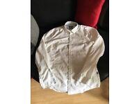 Men's Hugo Boss white shirt large