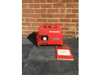 Kawasaki GA550A Portable Generator with Manual