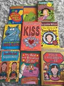 Jaqueline Wilson books 📚