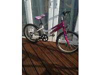 Ammaco Girls Bike 20inch Wheels Suit 6-12 years old