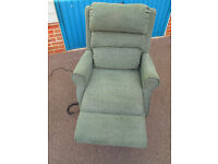 Electric rise and recline chair, can deliver