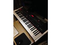 Dave Smith Prophet 08 PE with custom white end cheeks