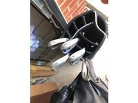 Golf Clubs - Golf Irons - Ben Sayers M7 with bag