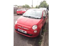 **REDUCED FROM £4000* 1.2l RED FIAT 500 EXCELLENT CONDITION