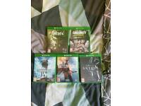 Fallout 4, COD WW2, Star Wars Battlefront, Battlefield 1 and Skyrim