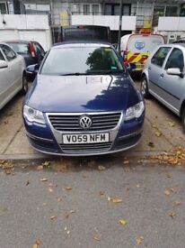 VW Passat 2.0tdi very good car with black alloy wheels.