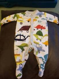 Newborn and 0-1 month clothing £2 each or £15 for all