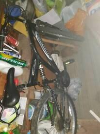 Double suspension mountain bike..!!