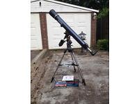 Celestron AstroMaster 90EQ dual-purpose telescope