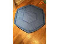 Lindam Safe & Secure Metal Playpen in Blue