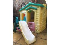 Children play house playhouse