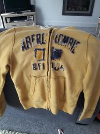 Men's Abercrombie and Fitch hoody