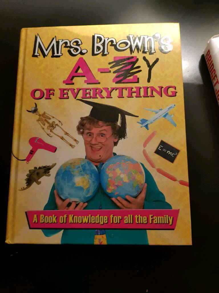 Mrs Brown's boys book