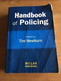 Handbook Of Policing - Tim Newburn