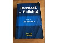 Handbook Of Policing - Tim Newburn
