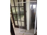 shower screen for over bath