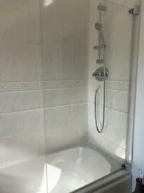 Shower and shower screen