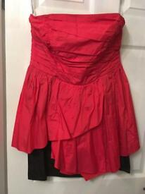 Red Herting dress size 14