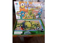 MB GAMES OPERATION GAME SHREK EDITION