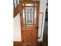 Solid Wood/Glass interior door