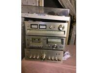 Sony System Complete Vintage Set - Models: PS-T20 - ST-A3L - TC-U2 - TA-F3A