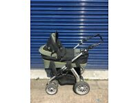 Pram - Swiss design - 2 in 1 pushchair and carrycot
