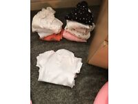 Baby girl vests,baby grows, clothing & bottle warmer