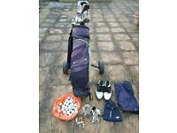Golf Bag/Trolley with extras