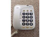 BT Big button + telephone