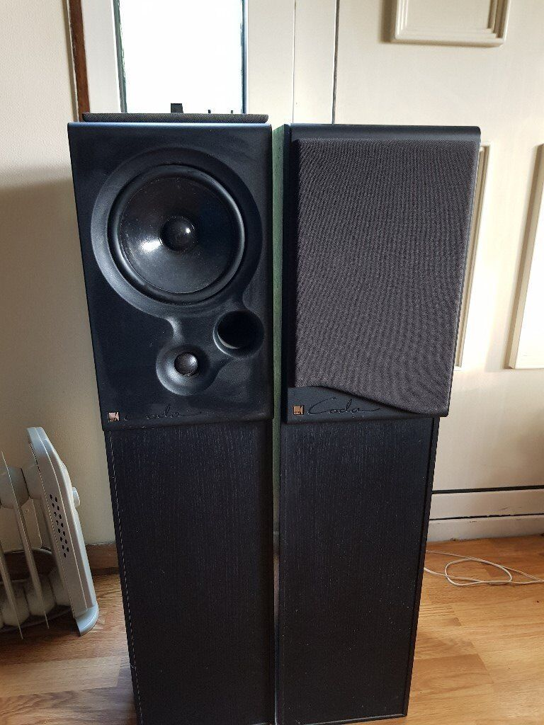 kef coda 9. kef coda 9 speakers and sony amp cd player a