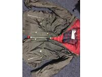 Burberry Brit coat parka 2in1