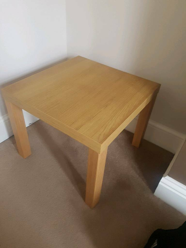Ikea Malm Oak Coffee Table