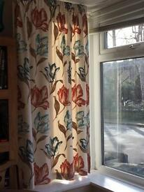 4X CURTAINS , FABRIC