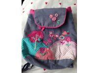 Accessorize child bagpack