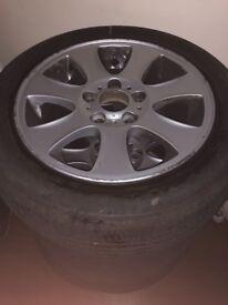 BMW 16inch wheels X4