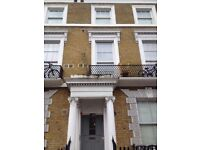 SELF CON1BEDROOM FLAT WITH GARDEN OFF KENSINGTON HIGHST&OLYMPIA 20 MIN BUS/TUBE HYDE PK&MARBLE ARCH