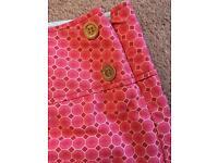 Joules mini skirt