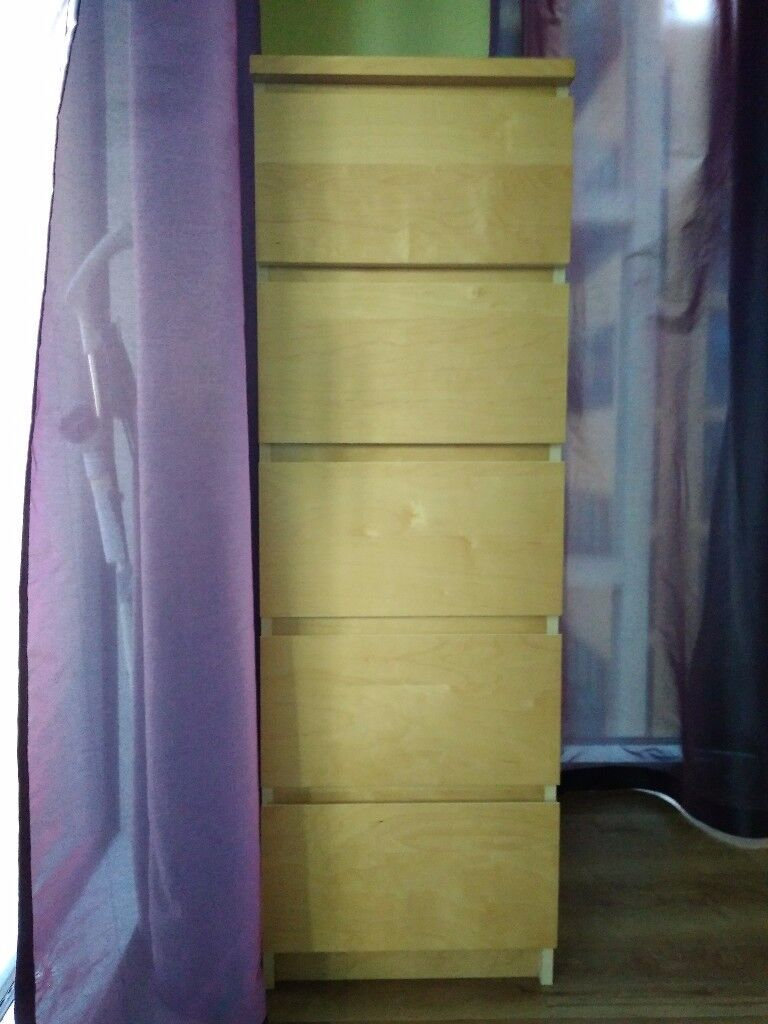 Chest of 5 drawers for Grab