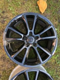 "Astra vxr 19"" alloy wheels gloss black"