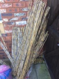 Free bamboo sticks garden fence