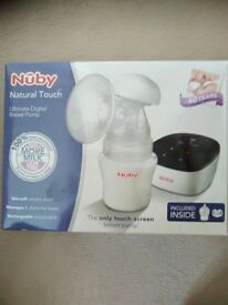 Nuby Natural Touch Ultimate Digital Breast Pump