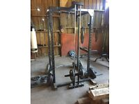 Body max Power rack and weights