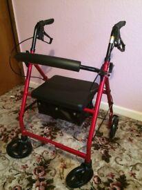 DRIVE Lightweight seated walker