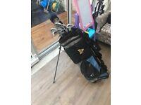 Golf club set with bag